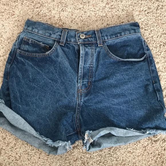 Brandy Melville Pants - Brandy Melville Ray Denim Shorts
